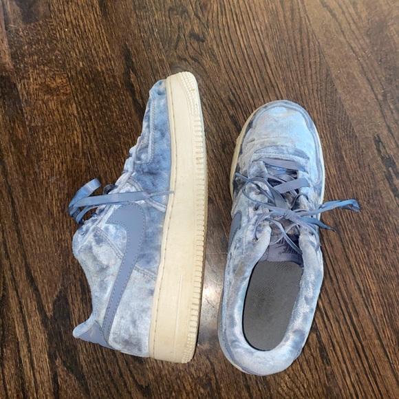 air force 1 blue velvet